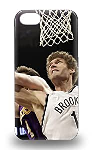 New Arrival Hard Case For Iphone 5/5s NBA Brooklyn Nets Brook Lopez #11