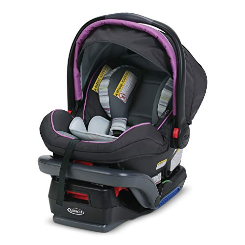 Graco SnugRide SnugLock 35 Elite Infant Car Seat | Baby Car Seat Featuring Safety Surround Side Impact Technology, Lansing