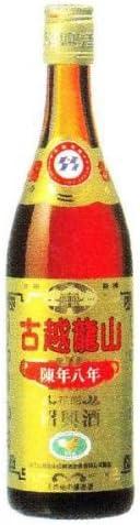 紹興酒 古越龍山 陳年8年 金ラベル 17度 640ml