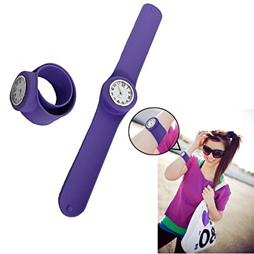 Dazzling Purple Rubber Watch Perfect product image