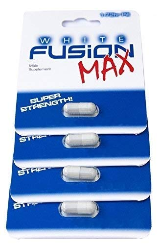 Whitefusion Male Performance Supplement and Testosterone Booster - New! (4 Capsules)