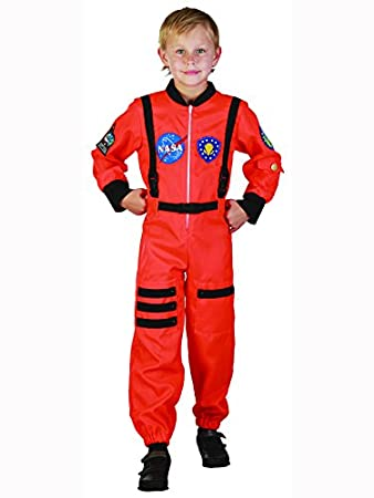 Child Orange Astronaut Outfit Fancy Dress Costume Book Week ...