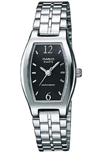 CASIO LTP1281D1AEF - Reloj de mujer de cuarzo, correa de acero inoxidable color varios colores: Amazon.es: Relojes