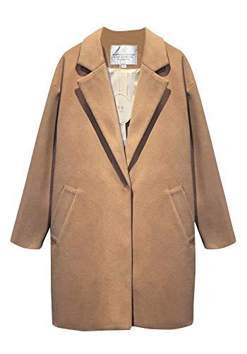 Boyfriend Coat Jeune Khaki Manteaux Vintage Manteau Festif pour Des Produit Printemps femmes Pure Mode Automne Veste De Trench Élégant Long Poches Avec Plus Color Sleeve La Survêtement qXq06r