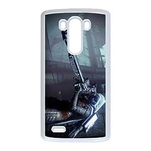 Destino LG caja del teléfono celular G3 funda blanca del teléfono celular Funda Cubierta EEECBCAAB08073