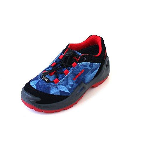 Garçon Montantes Bleu Pour rouge Lowa bleu Chaussures 8t5qwx4