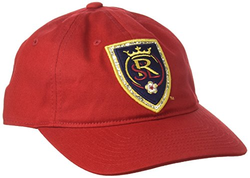 Woman Salt - adidas MLS Real Salt Lake Women's Adjustable Slouch Hat, One Size, Red