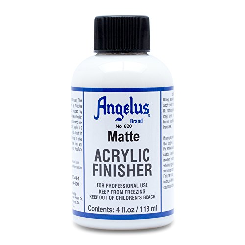 : Angelus Brand Acrylic Leather Paint Matte Finisher No. 620 - 4oz
