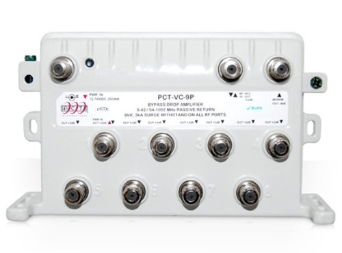 Check Out This 8-Port Bi-Directional Cable TV HDTV Amplifier Splitter Signal Booster