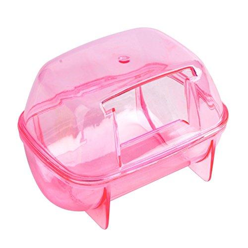 (Saim Hamster Bathroom, Small Pets Hamster Bathroom Bath Sand Room Sauna Toilet ( Random Color))