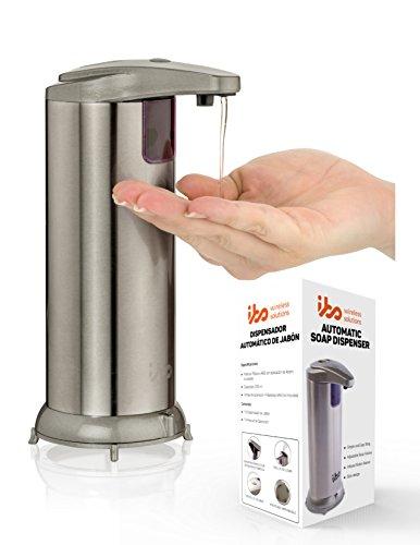 IBO Dispensador Automático de Jabón Liquido Manos Libres, Sin Contactos 240ml