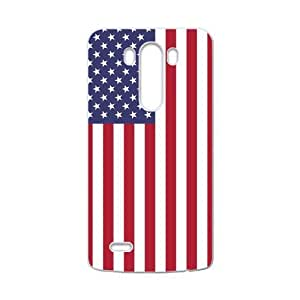 Blue White And Red Composition American Flag LG G3 Case Cover Shell(Laser Technology)
