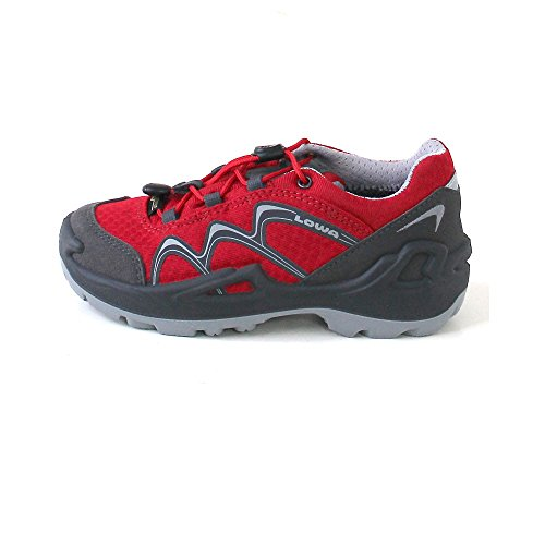 children grey lime light Outdoorschuhe Red Lo Lowa Red Diego Grey GTX qY0xpwt7