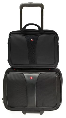 Patriot from Swiss Gear by Wenger Triple Gusset Rolling Computer Case w/Removable Tote by Wenger (Image #3)