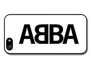 Abba Logo Black and White Case For Sam Sung Galaxy S4 I9500 Cover