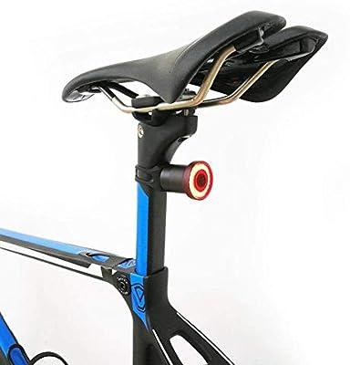 Luz Trasera de Bicicleta Recargable USB, Luz de Bicicleta Trasera ...