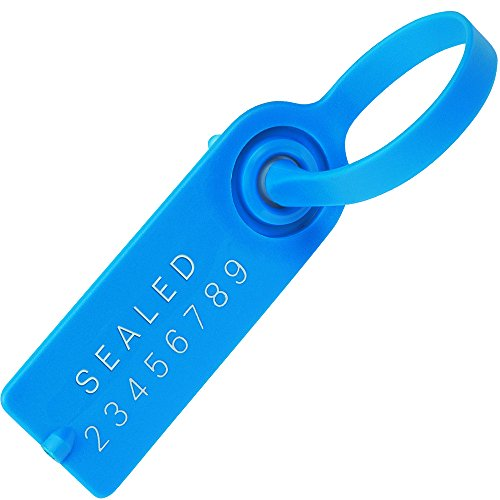 Aviditi-SE1036-Gemini-Tote-Seals-5-Blue-Pack-of-1000
