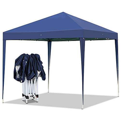 Yaheetech Outdoor Pop-Up Canopy Tent Portable Shade Instant Folding Canopy with Carry Bag 10 x 1 ...