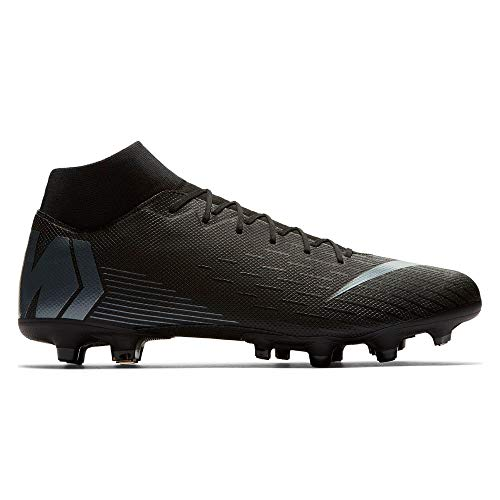 NIKE Superfly 6 Academy Men's Firm Ground Soccer Cleats (9.5 M US, Black/Silver) ()