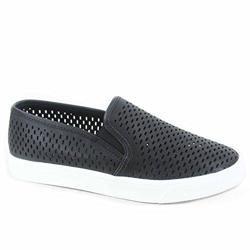 SODA Womens Slip On Flat Shoes