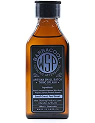 WSP Cooling Aftershave Tonic Splash 100ml (Barbacool) Mentholated