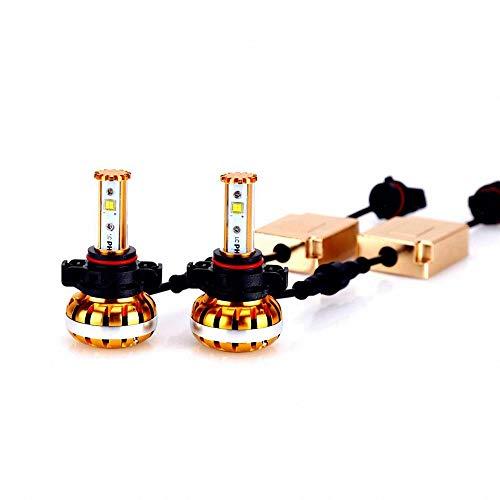 H16 5202 Led Fog Light Bulbs with 60W Philips Lumileds Chipset, DOT Approval Headlight Conversion Kit DRL for Chevrolet GMC Sierra 1500 2500 3500