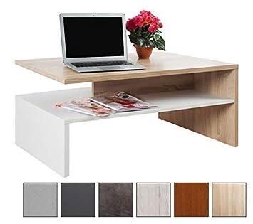 ricoo couchtisch modern wohnzimmer tv couch tisch wm080 w es design tische quadratisch universal