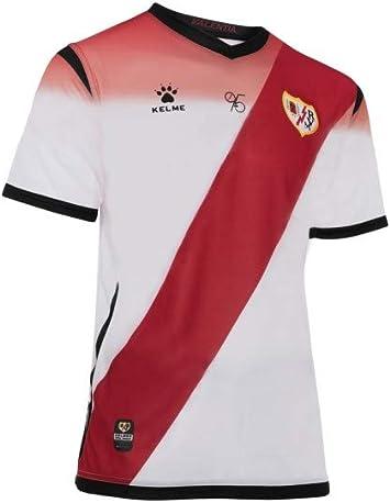 KELME - Camiseta 1ª Equipación 19/20 Rayo Vallecano: Amazon.es ...