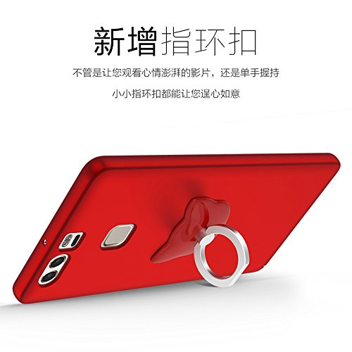 Funda Huawei P9,Manyip Alta Calidad Ultra Slim Anti-Rasguño y Resistente Huellas Dactilares Totalmente Protectora Caso de Plástico Duro Cover Case [Skin Series](YQ1-9) D