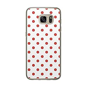 Loud Universe Samsung Galaxy S7 Love Valentine Files Valentine 82 Printed Transparent Edge Case - White