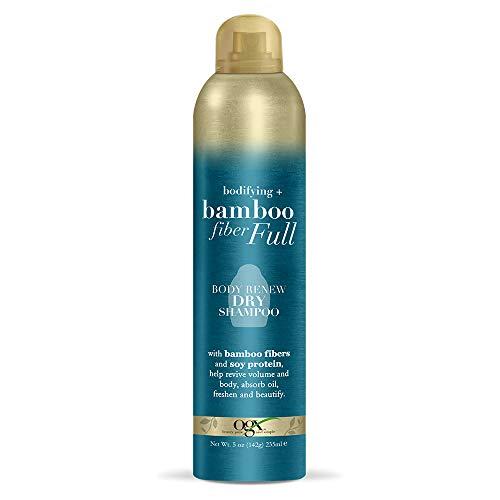 OGX Bodifying + Bamboo Fiber-Full Body Renew Dry Shampoo, 5 Ounce