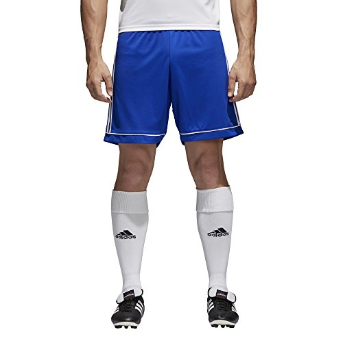 adidas Men's Soccer Squadra 17 Shorts, Bold Blue/White, XX-Large -