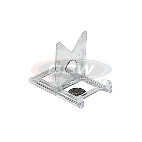 (Box of 20 BCW 2-Piece Card Display Stands for Top Loaders, Magnetics, or)