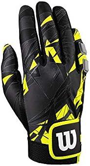 Wilson Sting Racquetball Glove, Yellow/Black, Large