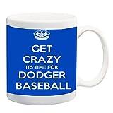 Los Angeles Dodger's Baseball 11 ounce Ceramic Coffee Mug Tea Cup by Debbie's Designs