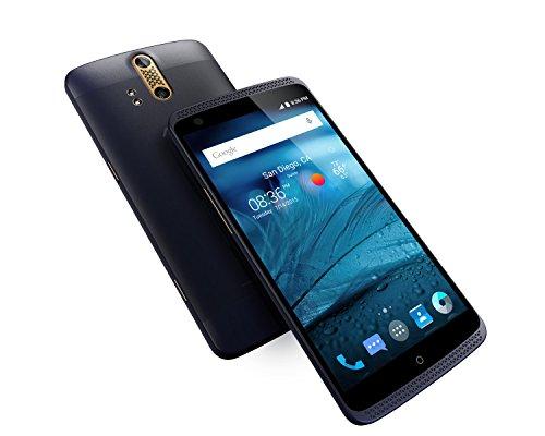 ZTE Axon Pro Factory Unlocked Phone, 64 GB Phthalo Blue (U.S. Warranty)