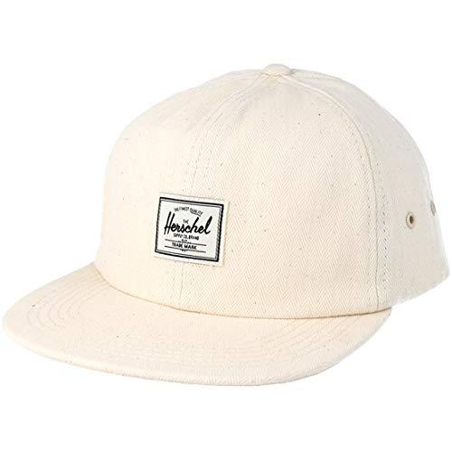 73c8e15b1f3 Herschel Supply Company Albert Logo Hemp Blend Baseball Cap (Natural  Surplus
