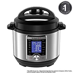 Instant Pot Ultra 10 In 1 Multi-Use Programmable Cooker is the next generation in kitchen appliances. Designed for the home chef looking for a greater Degree of customization and control for even greater precision cooking. The Ultra combines ...