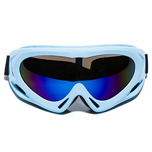 MIGAGA UV Protection Ski Goggles Adjustable Portable Motorcycle - Cheap Scuba Goggles