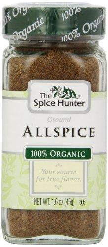 The Spice Hunter Allspice, Ground, Organic, 1.6-Ounce Jar