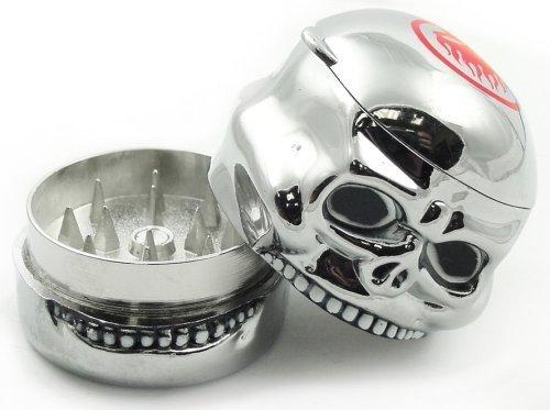 Skeleton Design Novelty Grinder Compartment