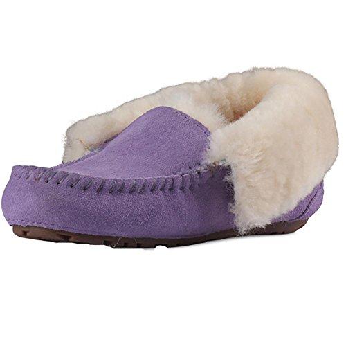 Handmade Genuine Warm Leather one Boots Winter 2 Small Two yards Keep Mini Women's SYYAN Snow Color UqfwYY