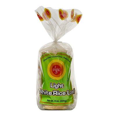 Ener-G Light White Rice Loaf - 8 (Ener G Foods White Rice)