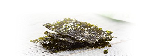 Wickedly Prime Organic Roasted Seaweed Snacks, Wasabi Style, 0.17 Ounce (Pack of 24)
