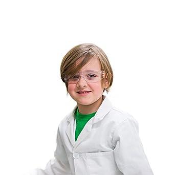 Los niños de color blanco algodón bata de laboratorio para proyectos de ciencia y artes y manualidades, XS: Amazon.es: Amazon.es