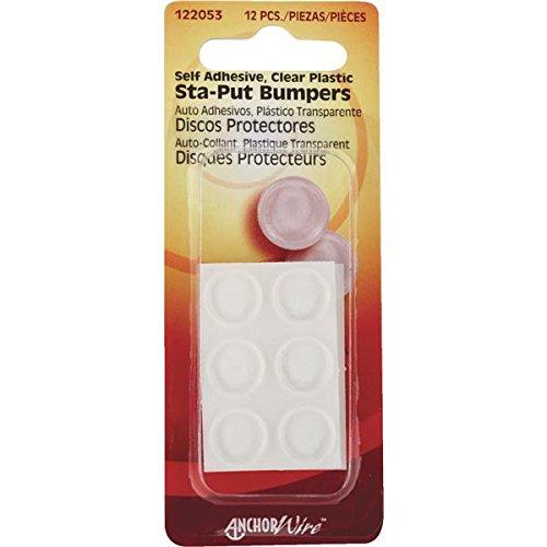 [해외]Hillman Fastener Corp 122053 자체 점착 범퍼 (Pack of 10)/Hillman Fastener Corp 122053 Self-Adhesive Bumper (Pack of 10)