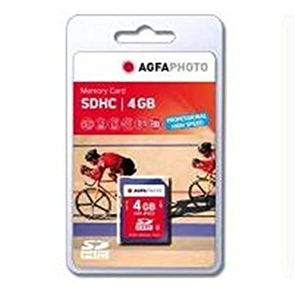 AgfaPhoto 4GB SDHC Professional High Speed - Tarjeta de ...