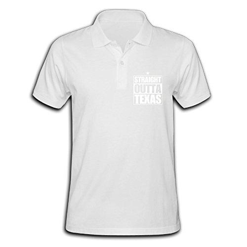 ZHONGJIAN Men's Polo Shirt Short Sleeve With Simple Printing