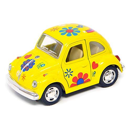 VW Beetle, Color Options for Miniature Garden, Fairy Garden, Yellow