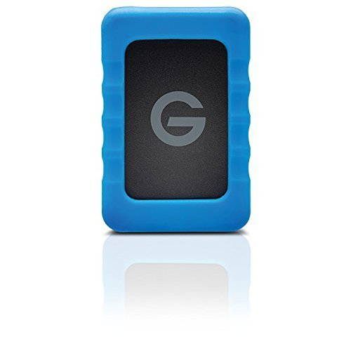 G-Technology G-DRIVE ev RaW USB 3.0 Portable Hard Drive 2TB 0G05190 by G-Technology